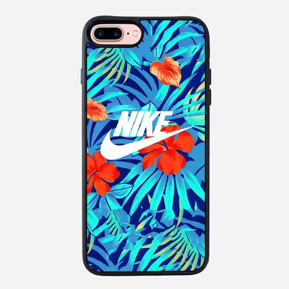 2daddb7d80627 Nike floral iPhone XS Max XR case 7 plus 8 plus 6S